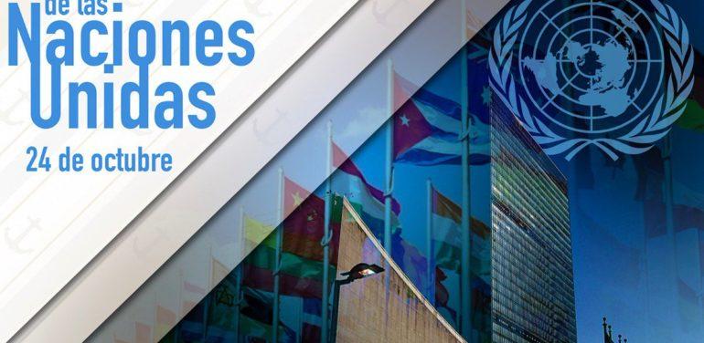 Día de las Naciones Unidas 24 Octubre 2019