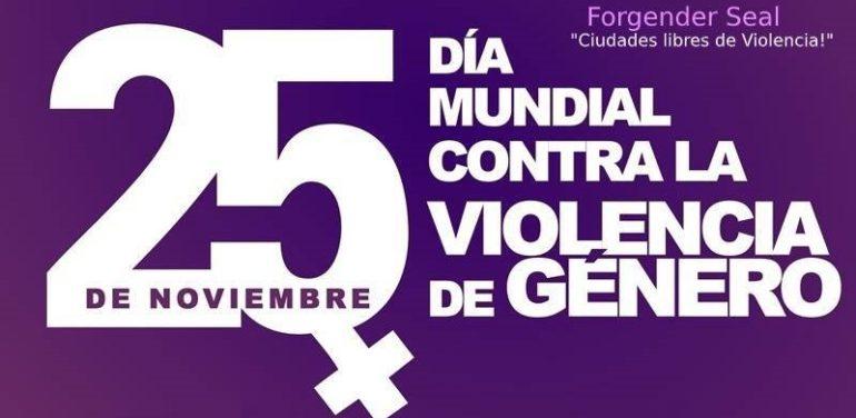 """25 Noviembre """"Ciudades libres de violencias"""""""