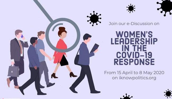 Discusión electrónica sobre el liderazgo de las mujeres en la respuesta COVID-19