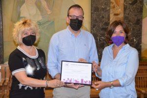 L'Ajuntament rep el distintiu per la Igualtat de Gènere en reconeixement de les seves polítiques municipals